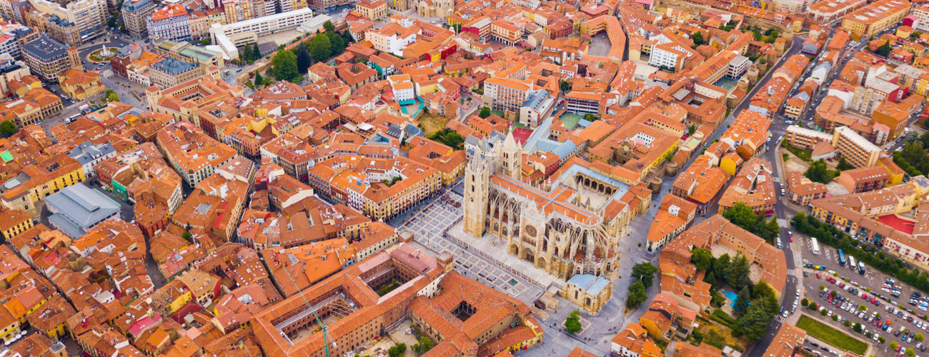 Vista aérea de León