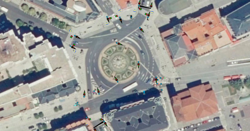 Esquema de semáforos GIS