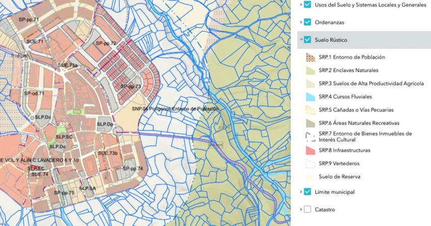 Urbanismo GIS Guadalajara