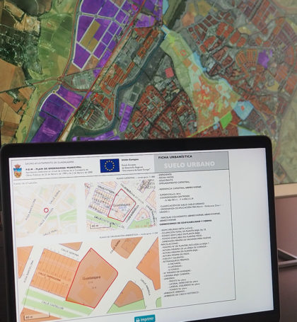 Ficha urbanística GIS Guadalajara