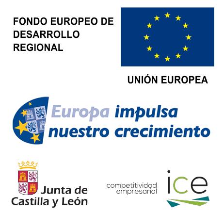 Fondo Europeo de Desarrollo Regional, Europa impulsa nuestro crecimiento, Junta de Castilla y León, Instituto de Competitividad Empresarial